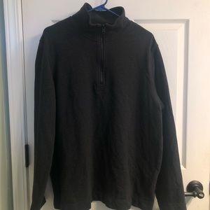 Gray 1/4 Zip Banana Republic Core temp Sweatshirt